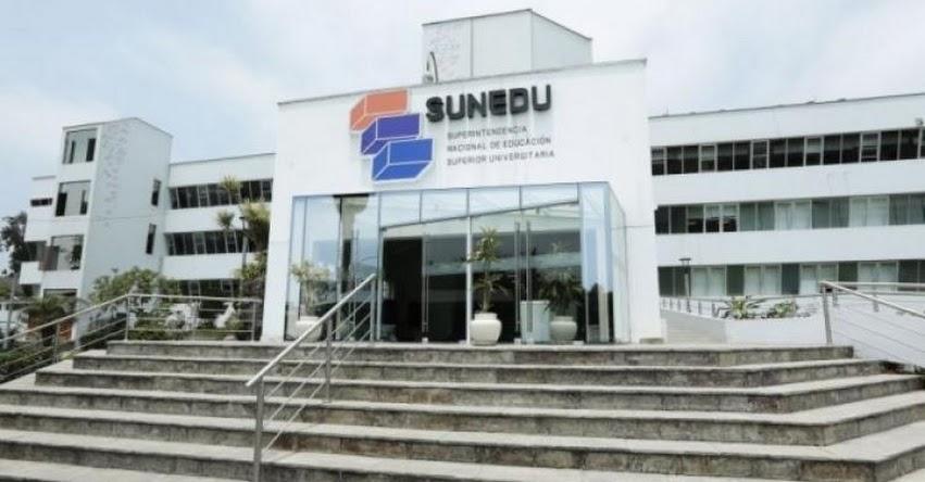 Nuevo jefe de la Sunedu será elegido por el próximo ministro de Educación