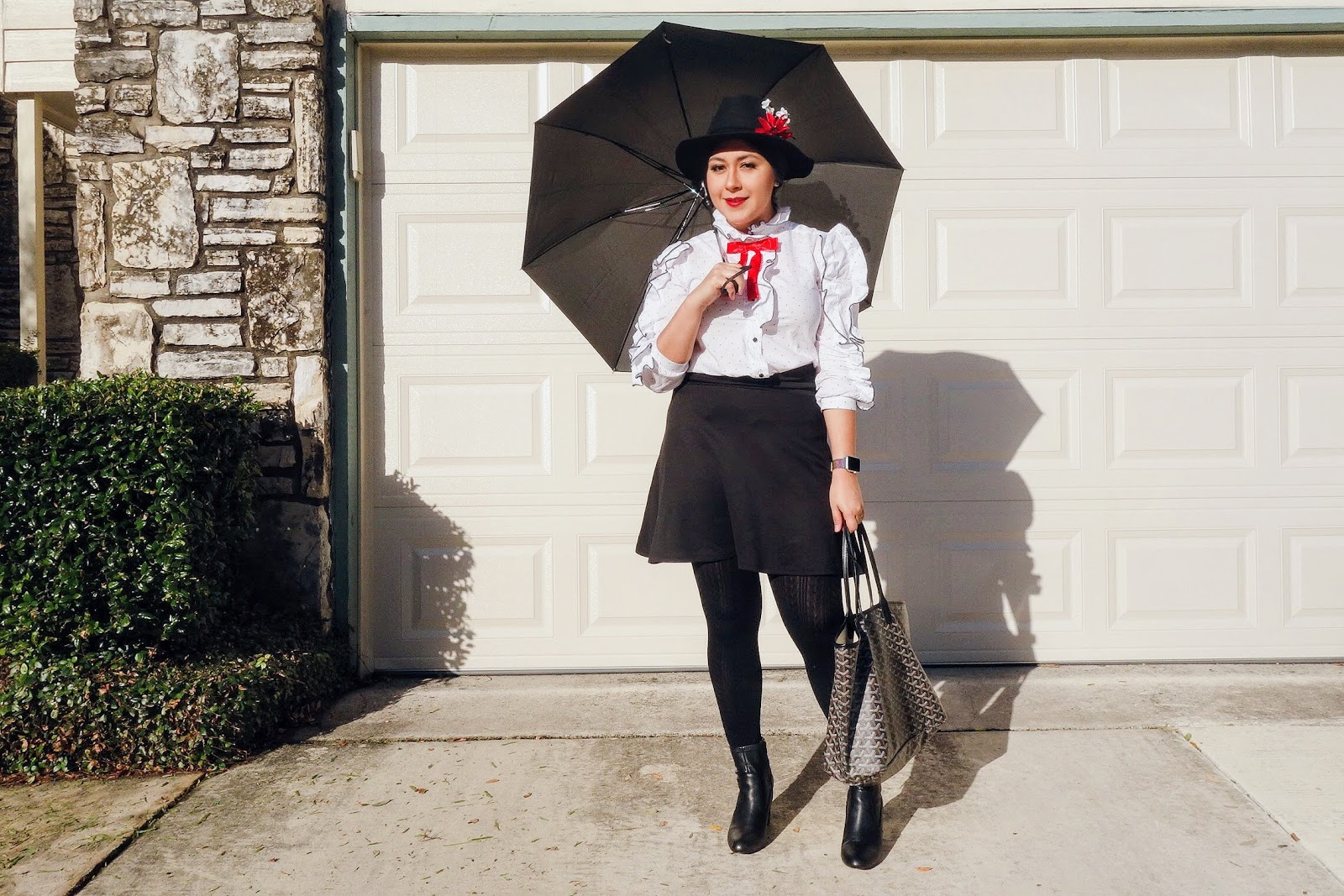 Mary Poppins Costume, Costume Ideas for Halloween, Mary Poppins, Easy Halloween Costume Idea
