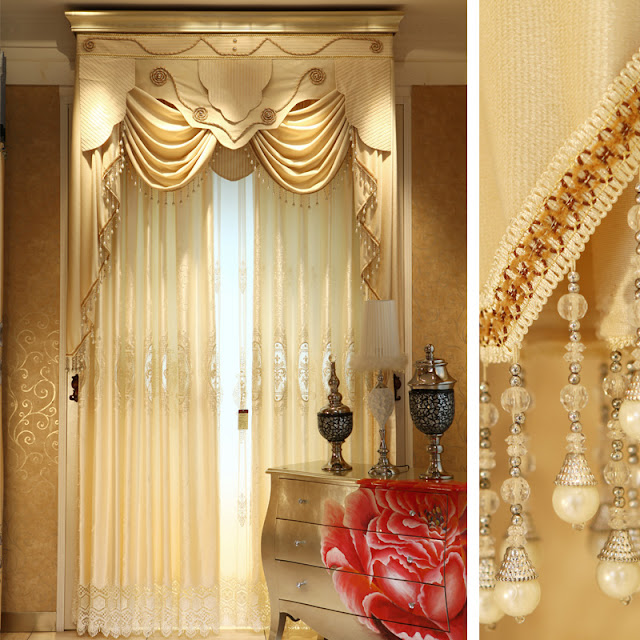 Modern curtain designs for living room windows and latest window treatment ideas - Latest curtain designs for windows ...