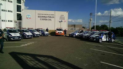 Paulo Hadich entrega novas viaturas a Guarda Civil de Limeira