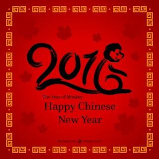 Gambar Kata Ucapan DP Imlek 2016 - Tahun Baru Cina 2016