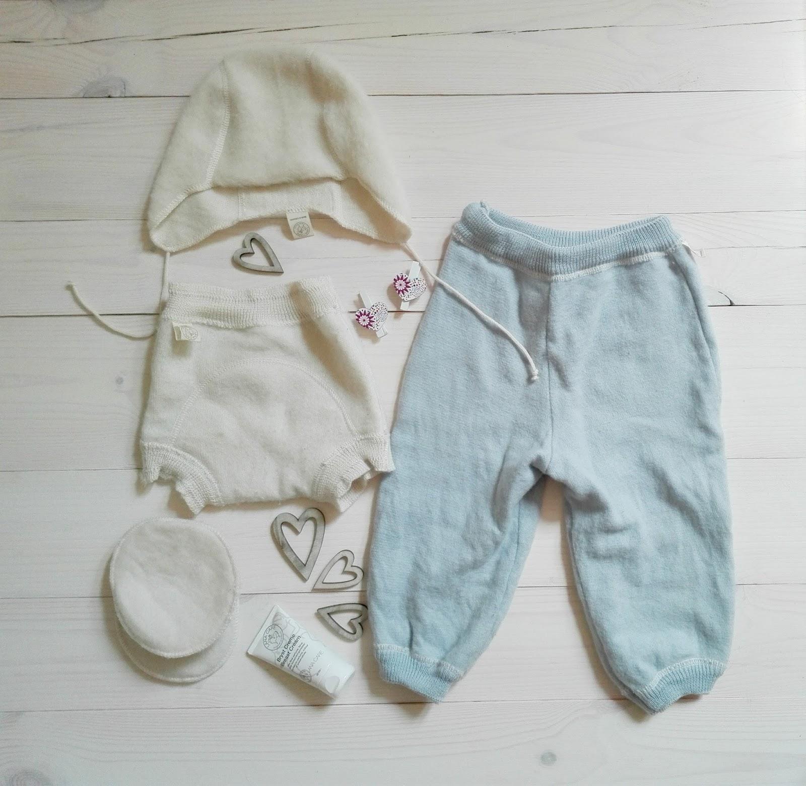 Ubrania z wełny merynosów