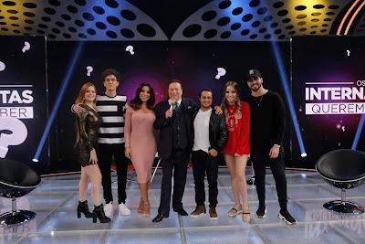 Viih Tube, Christian Figueiredo, Andressa, Raul Gil, Thammy, Giovanna Chaves e T3ddy (Foto: Rodrigo Belentani)