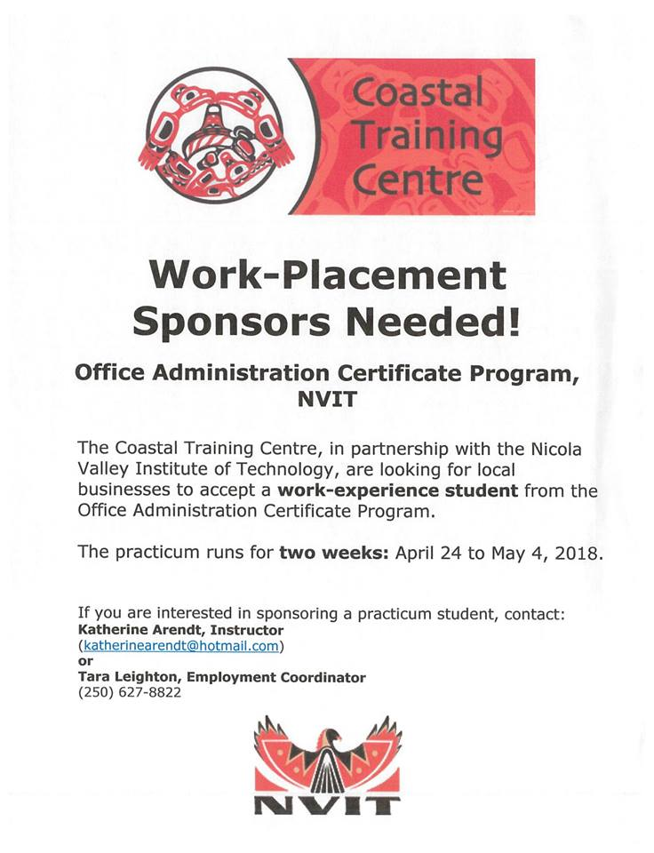 north coast review: coastal training centre seeks work placement ...