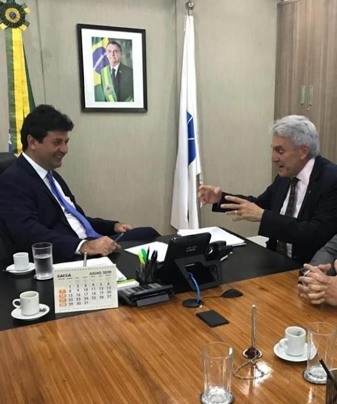Ministro da Saúde confirma empenho para construção do Hospital de São Gonçalo