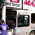 Ônibus perde o controle e invade loja de bicicletas no Centro de Duque de Caxias; assista ao vídeo