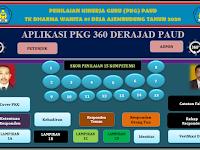 Terbaru Aplikasi PKG Guru PAUD Versi 360 Derajad Revisi Terbaru