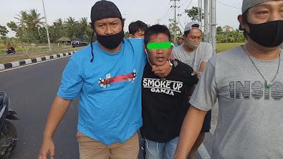 Tim Puma Polres Lobar Bekuk Jambret Bypass BIL