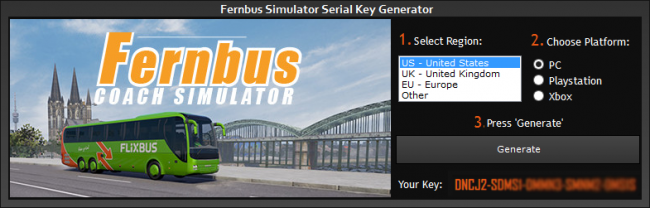 fernbus simulator activation key gratis