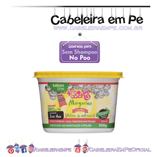 Margarina Capilar Tô De Cacho - Salon Line  (Liberada para No Poo)