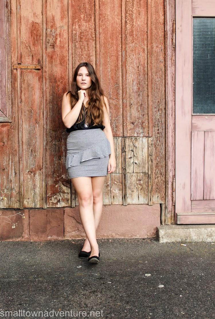 Kolumne Freundschaft, Kolumne Blogger, Freundschaft Darstellung Medien, OotD karierter Rock