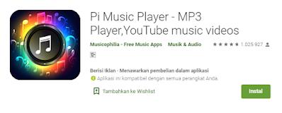 pi musik player Aplikasi Player Musik Offline Gratis Terbaik di Android