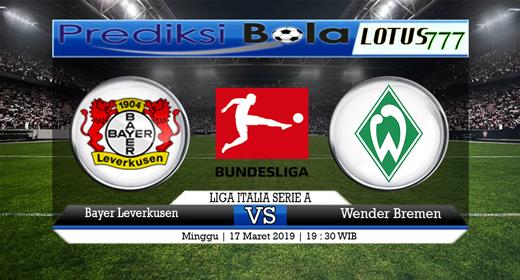 Prediksi Bayer Leverkusen vs Werder Bremen 17 Maret 2019