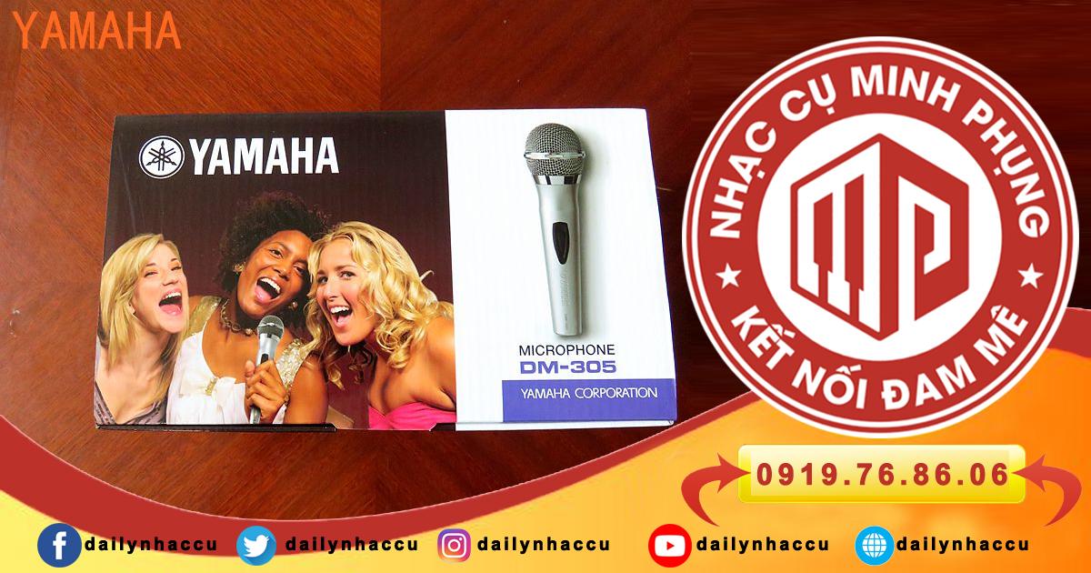 Micro karaoke có dây yamaha DM-305