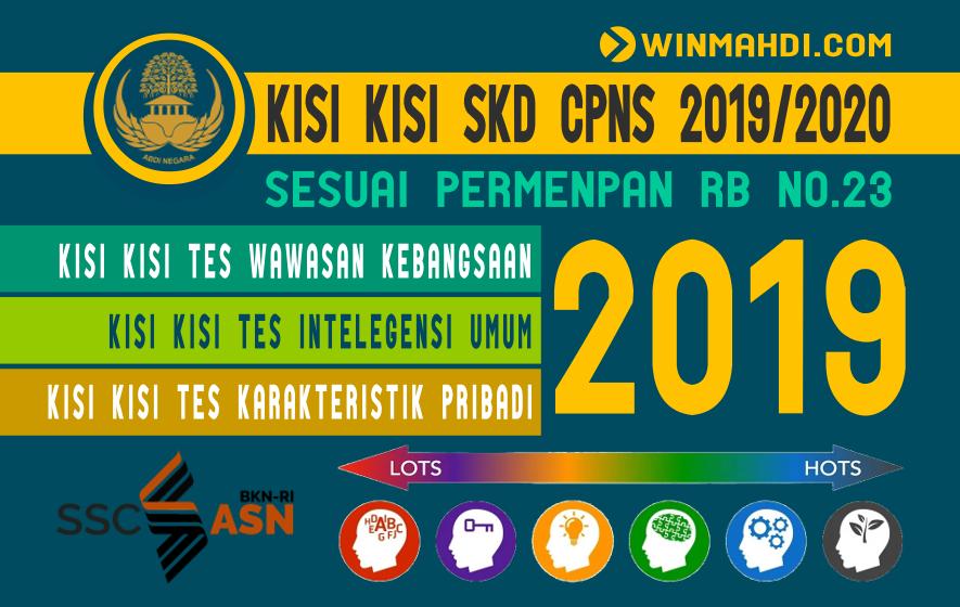 KISI KISI UJIAN CPNS 2019