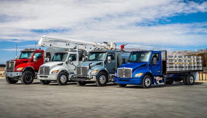 Kenworth apresenta nova linha de caminhões médios