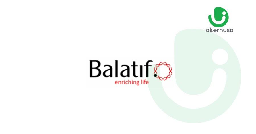 Lowongan Kerja PT. Balatif