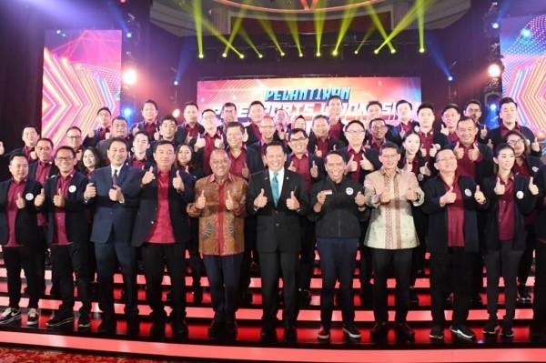 Bamsoet Bersama Sandi Masuk Dalam Jajaran Dewan Pembina E-Sport Indonesia