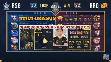 Build Uranus RRQ Lemon Terkuat