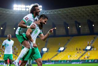 ملخص واهداف مباراة السعودية وفلسطين (5-0) تصفيات كاس العالم