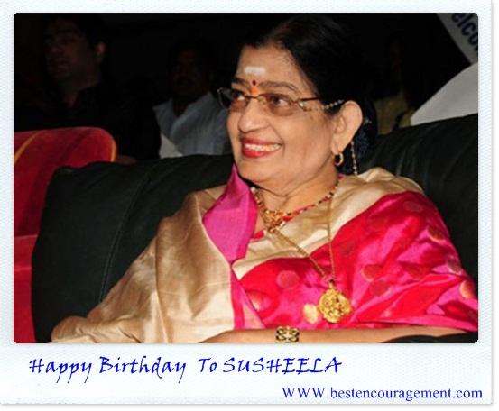 susheela birthday images
