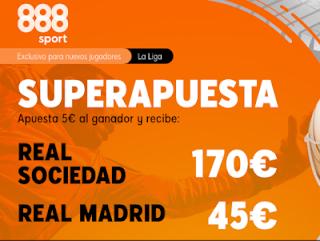 888sport Superapuesta Liga Real Sociedad vs Real Madrid 20 septiembre 2020