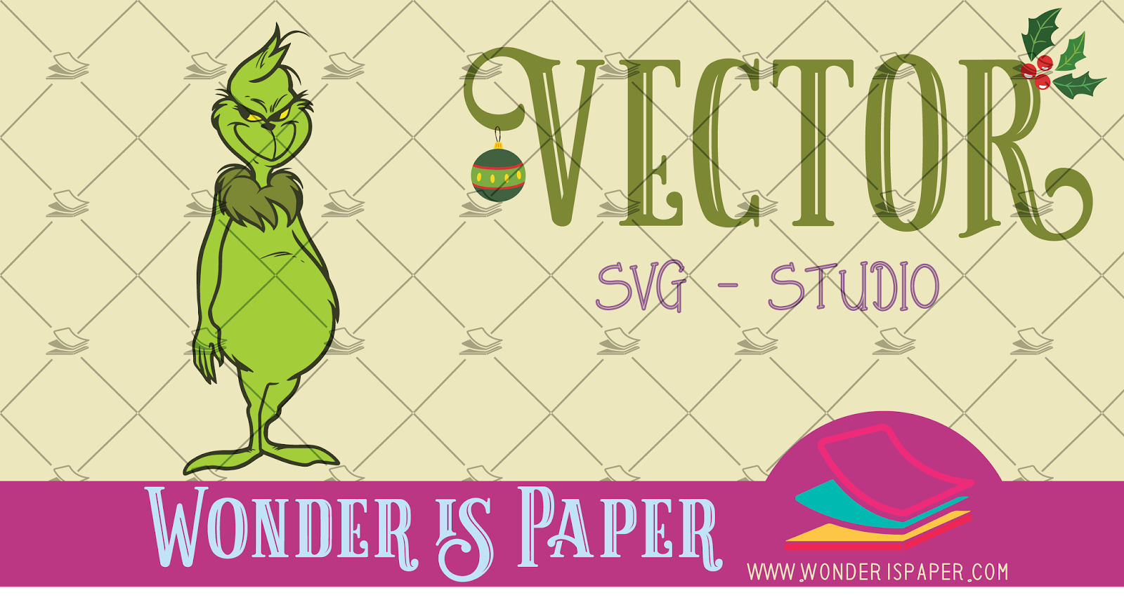 Imagenes De Grinch De Buenos Dias.Vector El Grinch Wonder Is Paper