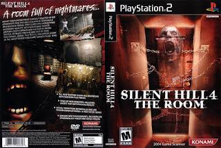 Capa-fromback Silent Hill 4 The Room 2004 PS2 Traduzido PtBr