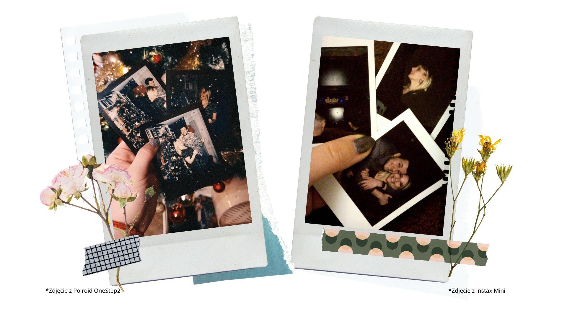 3 porownanie polaroid i instax jak wygladaja zdjecia ile kosztuja wklady do instaxa i polaroid
