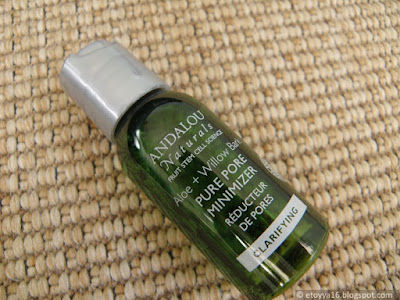 Andalou Naturals, Get Started Clarifying, Aloe + Willow Bark Pore Minimizer