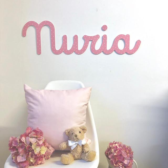 Nombres de niño y de niña para decoración infantil