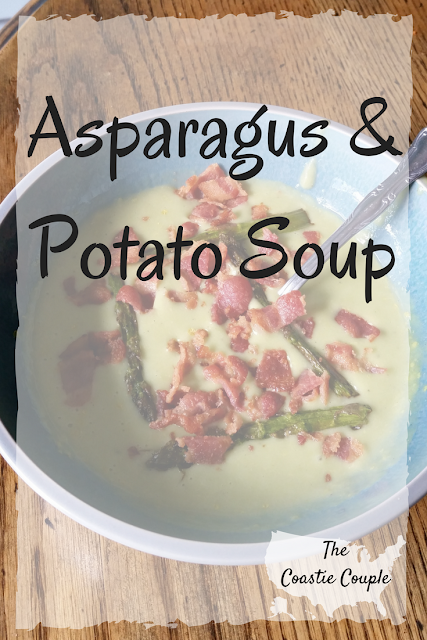 This healthy potato soup would be the perfect addition to your St. Patrick's Day dinner!