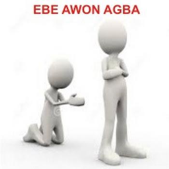 EBE ATI ASINA AWON AGBA - the leaf herbal