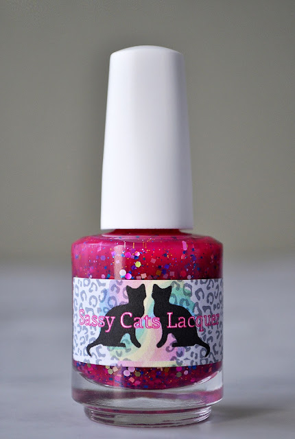 I'm Got Candy Galore...Sassy Cats Lacquer Agnes Meet Candy!