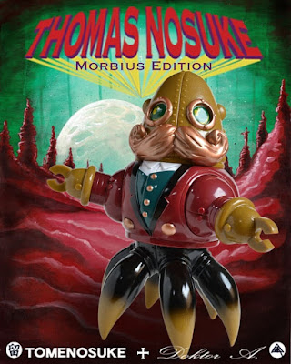 Thomas Nosuke Morbius Red Edition Vinyl Figure by Doktor A x Tomenosuke