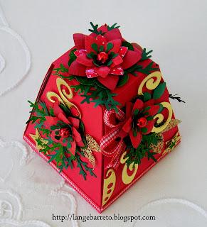 Caixa mensagem Natalina