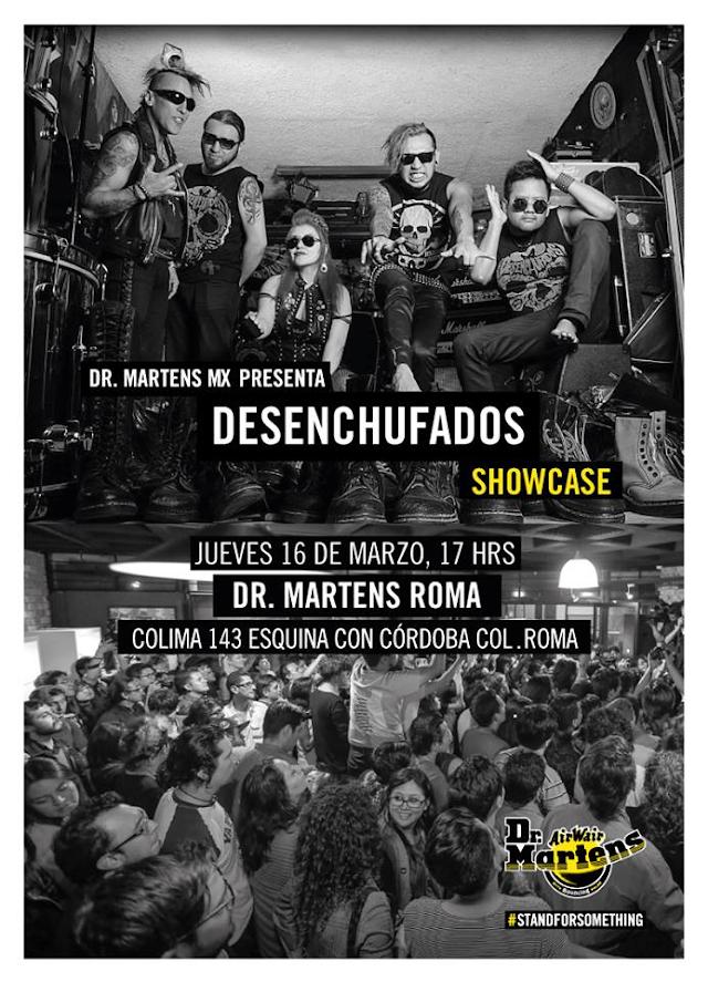 Dr Martens presenta a DESENCHUFADOS en showcase previo a VIVE LATINO