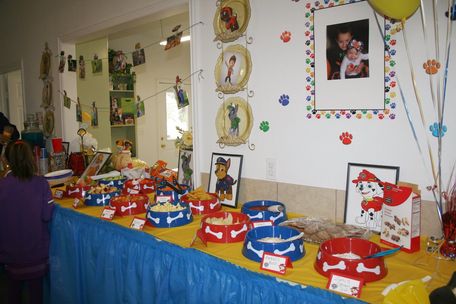 Paw Patrol Party: Jacob's Paw Patrol Party