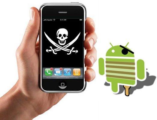 SMARTPHONE APP piratas