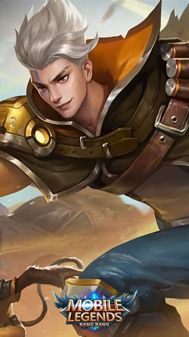 Wallpaper Claude Golden Bullet Skin Mobile Legends HD for Android and iOS