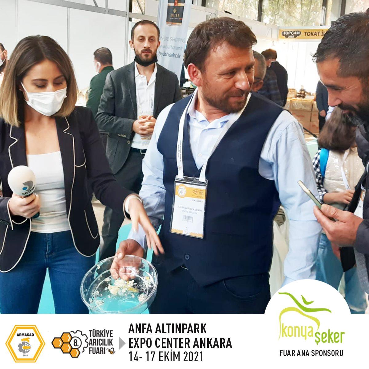 Armasad 8.Türkiye Arıcılık Fuarı 2021 ANKARA Altınpark fuar alanı, kanal d haber