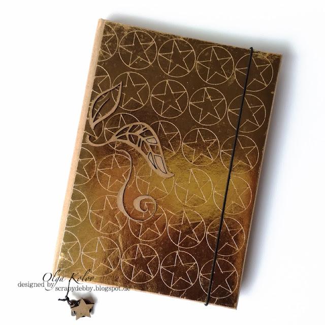 @olgakolov @umwowstudio @docrafts #gold #notizbuch #notebook #craft #selfmade