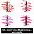 Free BeCause Cosmetics Silky Matte Lip Crayon
