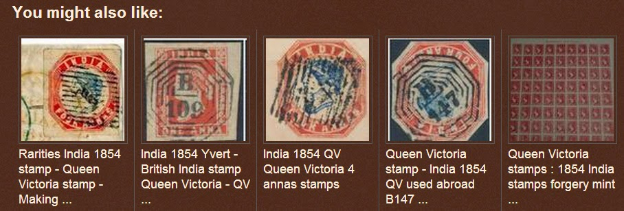 GANDHI STAMPS CLUB: Rare antique Indian stamps value : India 1854 QV