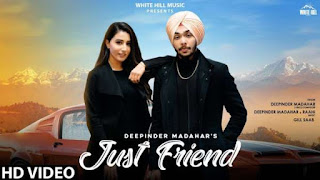 Just Friend Lyrics Deepinder Madahar