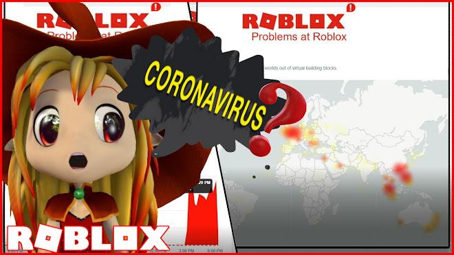 Roblox is DOWN not because of Coronavirus!