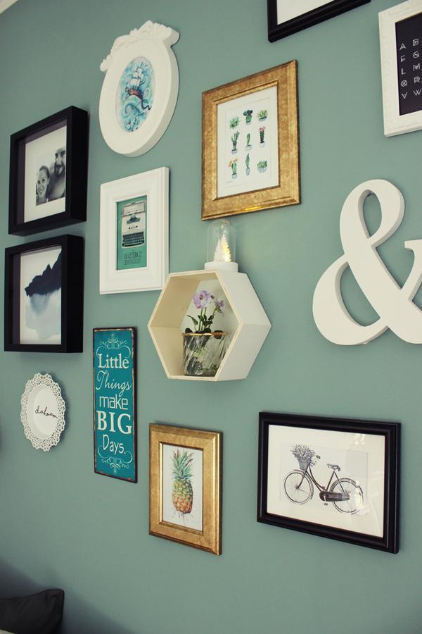 Im Wohnzimmer Haben Wir Auch Die Wnde In Neuen Farben Gestrichen Und Bilderwand Mit Bildern Ausgetauscht Ich Bin Wirklich Glcklich Den