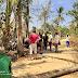 Masyarakat Dusun IV Pekon Pandansari Melaksanakan Gotong Royong