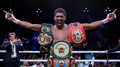 Anthony Joshua Agrees On A Two-Fight Deal With Tyson Fury.