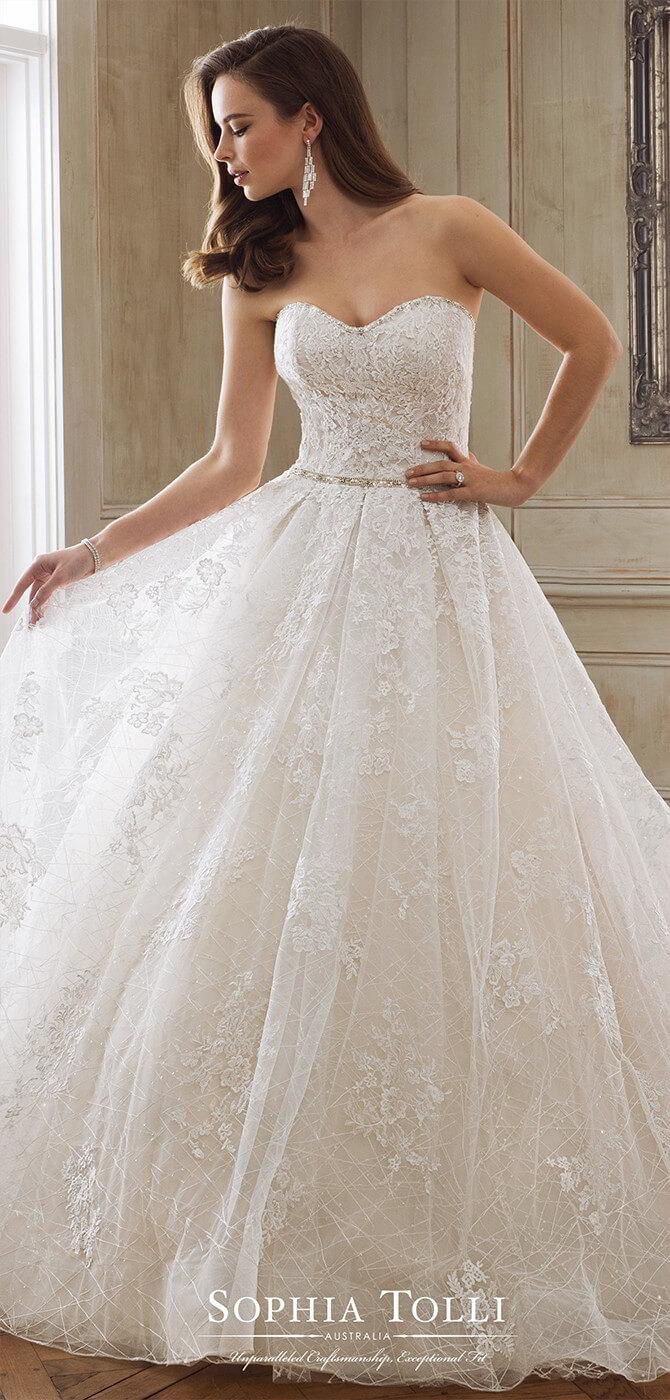 Sophia Tolli Spring 18 Wedding Dresses   World of Bridal
